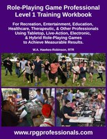 RPG Professionals Level 1 Training Workbook Submitted for Preview Publication to Amazon